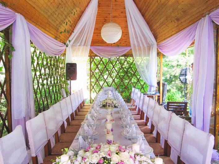 Беседки для свадьбы своими руками